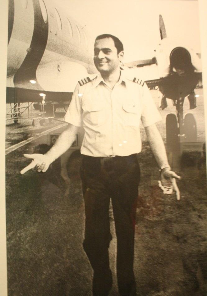 Rajiv Gandhi Pilot