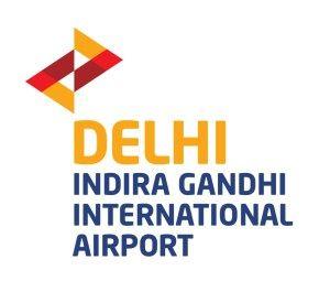 India gandhi International Airport Logo
