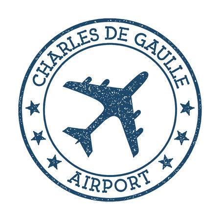 charles de gaulle airport logo